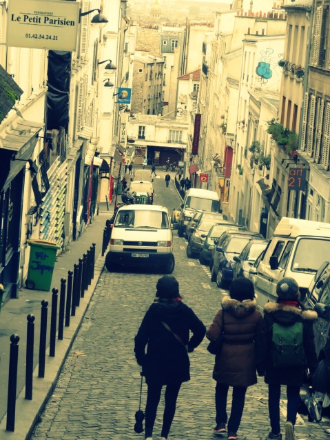 The Rise to Montmartre