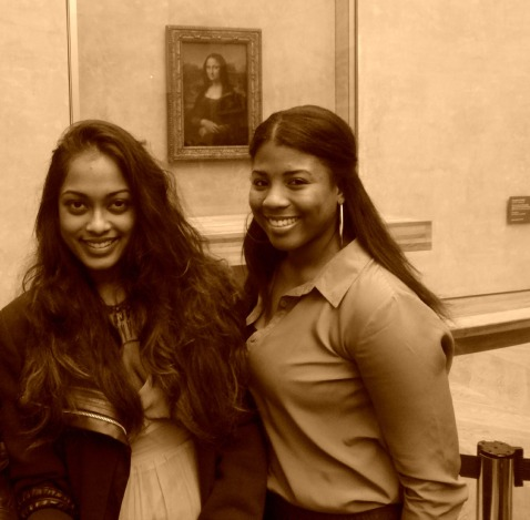 Hanging with Mona