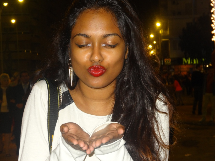 Kisses from Nadia