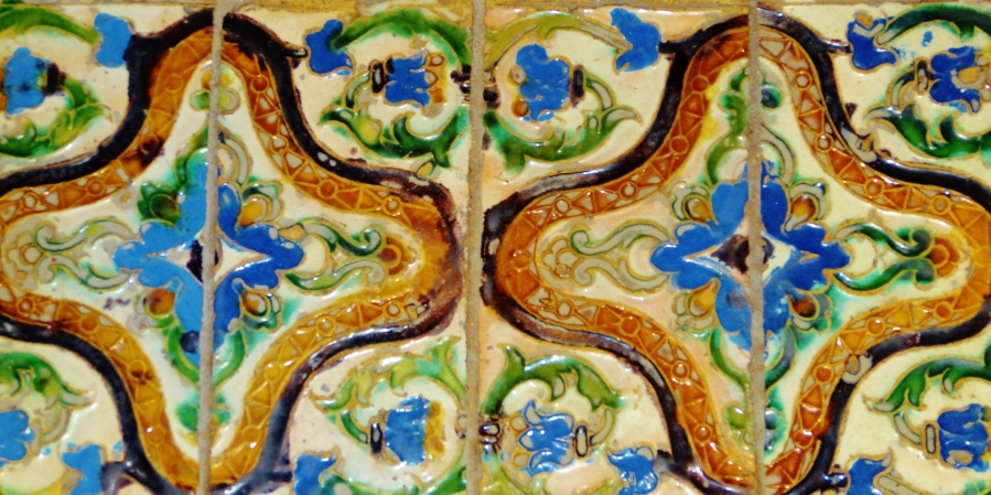 Puzzle Pieces, Tiles and Blue